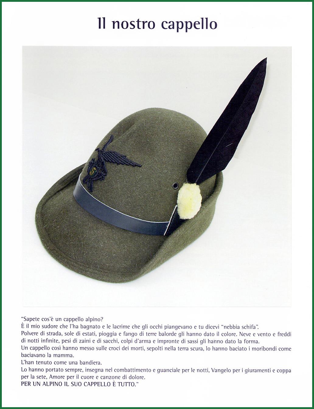attività cappello alpino