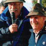 Il Presidente  Sezionale Enrico Gaffuri con Gianmario Porro