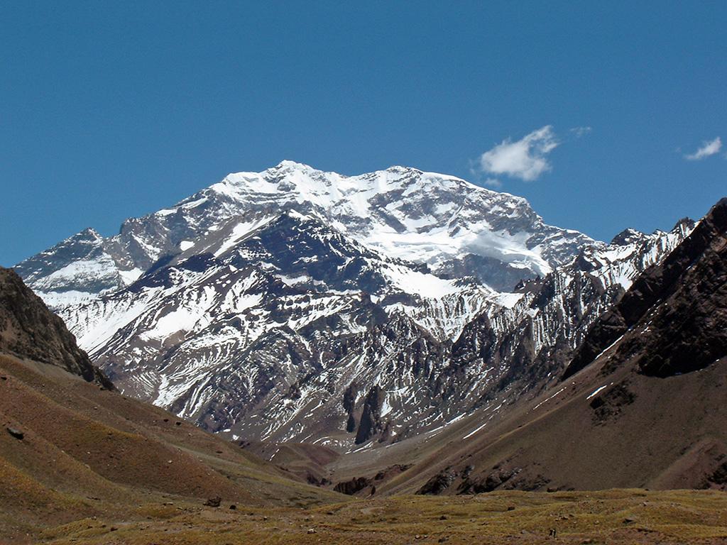 Aconcagua la vetta più alta del Sud America