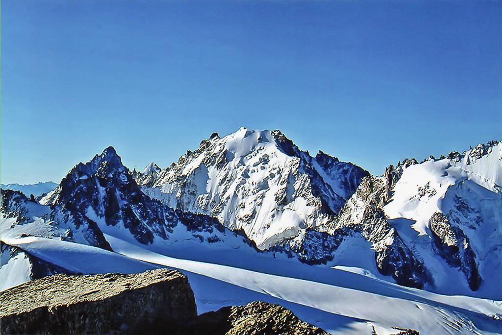 Monte Bianco - la vetta più alta dell'Europa occidentale