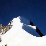 """la cresta nord del Bernina """"BIANCO GRAT"""""""